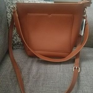 Old Navy Faux-leather Bucket Bag New w/ Tag
